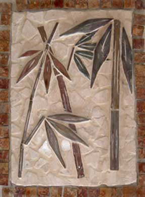 Tile Murals Authentic Cut Stone Mosaic Style Tropical