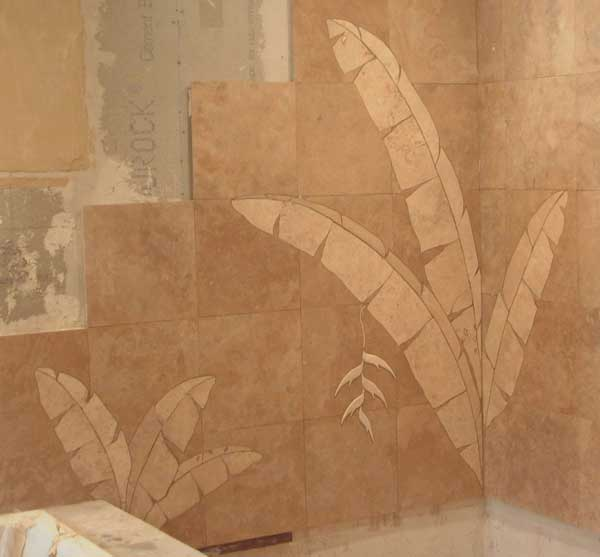 Bathroom Tile Murals For Shower Walls And Tub Surrounds