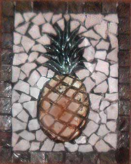 Pineapple Tile Murals For Kitchens And Entry Way Ceramic