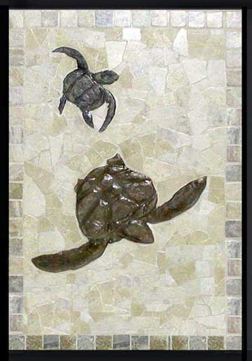 Top SEA TURTLE TILE MURALS AND MOSAICS, PICTURES AND SAMPLE PRICES  RM47